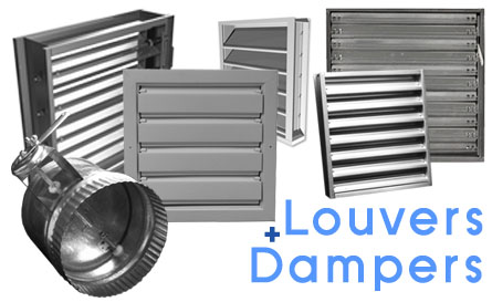 LOUVERS + DAMPERS