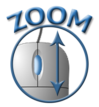 ZOOM cirlce icon
