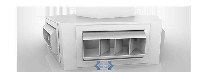 Conexiones de aire acondicionado en acero vermont for Caja aire acondicionado