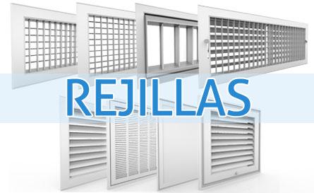 Rejillas ductos para aire acondicionado industrias for Rejillas aire acondicionado regulables
